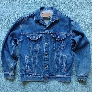 Awesome vintage Levis denim jacket made in USA